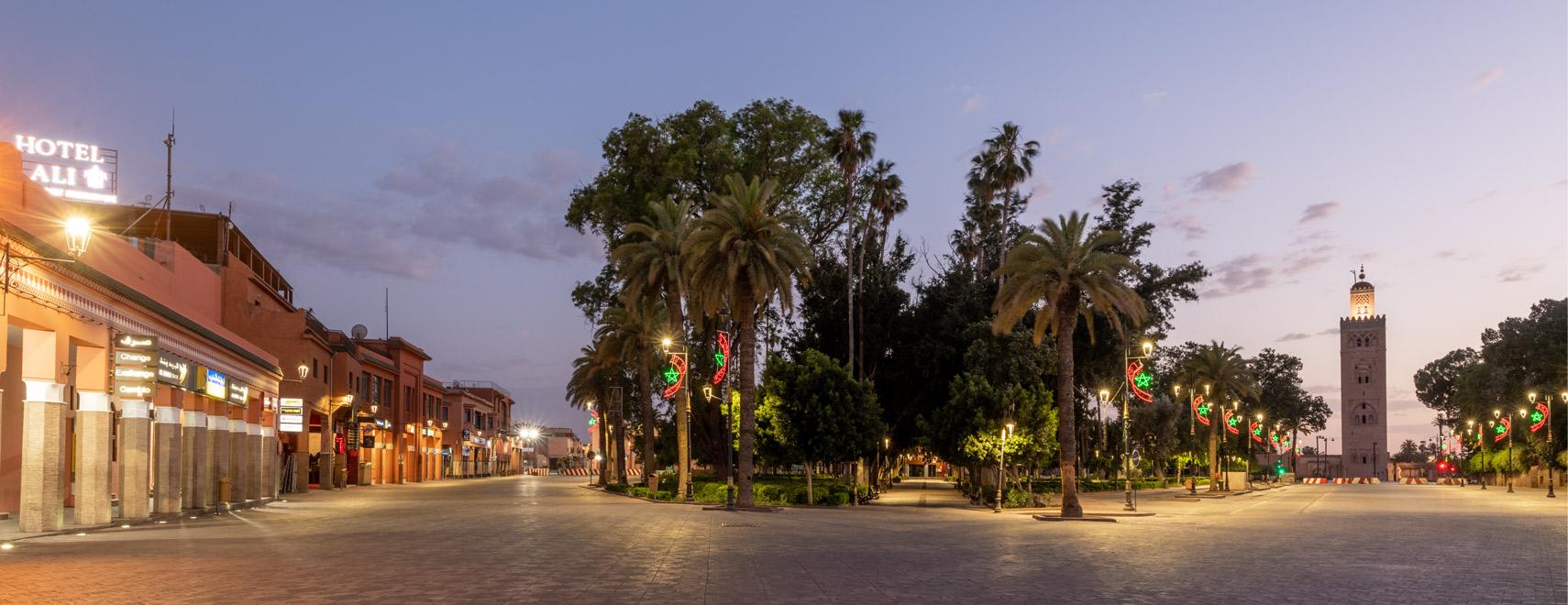 Marrakech Pendant la Pandémie